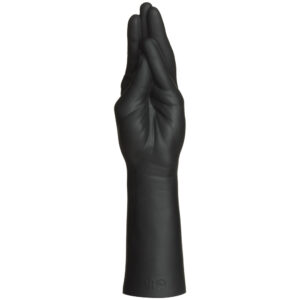 Kink Dual Density SECONDSKYN Fist Stretching Hand Black