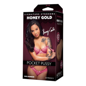 Signature Strokers Honey Gold Pocket Pussy
