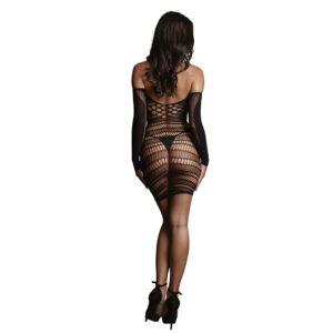 Long Sleeved Mini Dress One Size