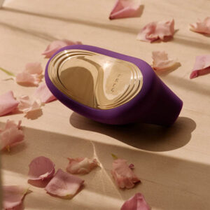 LELO SONA 2 Cruise Sonic Waves Massager Cerise, Waterproof with Cruise Control for Enhanced Pleasure