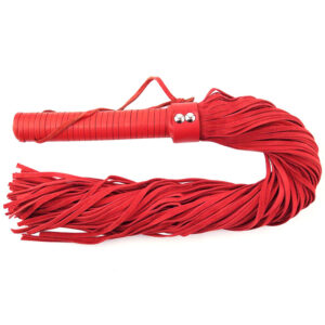Rouge Garments Red Suede Flogger