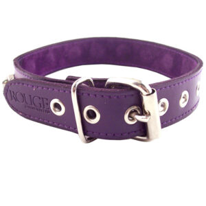 Rouge Garments Purple Nut Collar