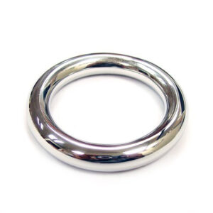 Rouge Stainless Steel Round Cock Ring 45mm