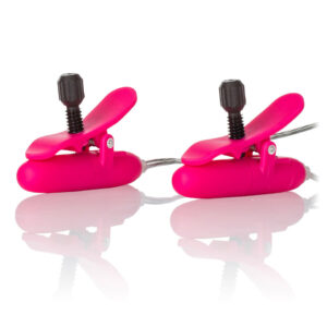 Heated Vibrating Nipple Teasers Pink