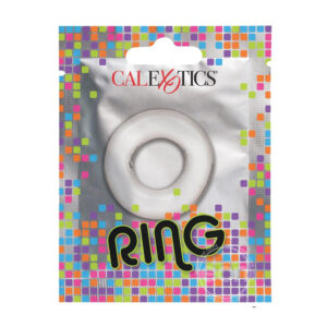 Foil Pack Cock Ring Clear