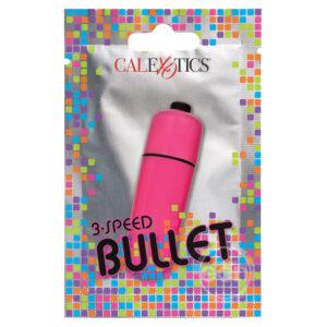 Foil Pack 3Speed Bullet Vibrator Pink