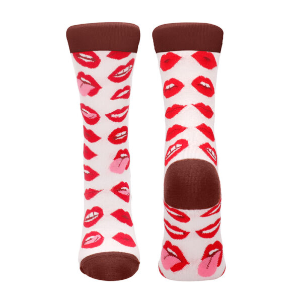 Lip Love Sexy Socks Size 42 to 46