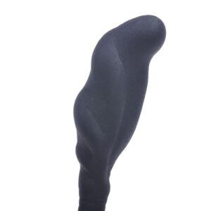 Silicone Prostate Exerciser Black