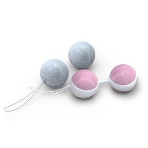 Lelo Luna Beads Mini Pink And Blue