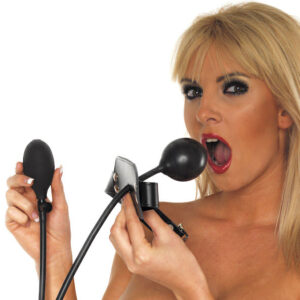 Leather Inflatable Gag